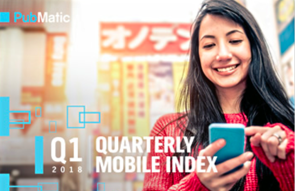 Apps lead the charge as mobile advertising continues to grow worldwide, according to PubMatic