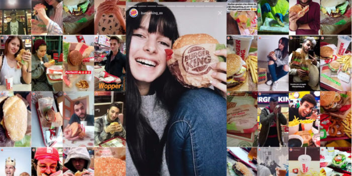 Burger King polled Instagram fans to crowdsource the 'InstaWhopper'