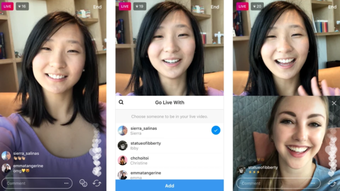 Instagram adds video chat to its host of features