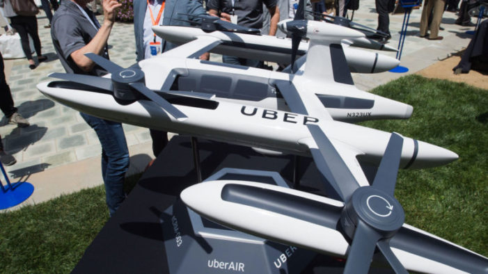 Uber preps test of 30-minute food delivery by drone