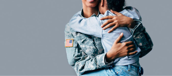 Verizon gives appreciation for the troops in stitched-together mobile salute