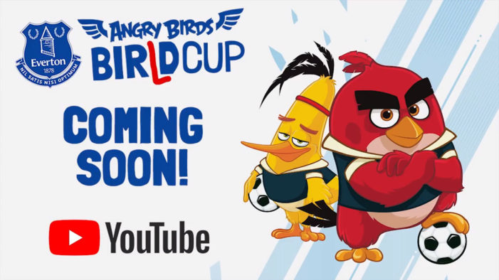 Rovio Entertainment and Everton Football Club kick off World Cup celebrations with new YouTube series