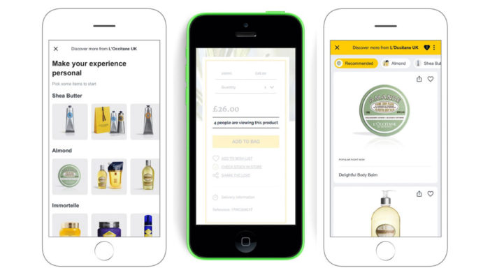 L'Occitane boosts mobile conversions by 159 per cent with AI-powered personalisation