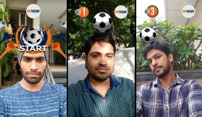 Big Bazaar engages consumers for Fifa World Cup with AR experience app on Facebook