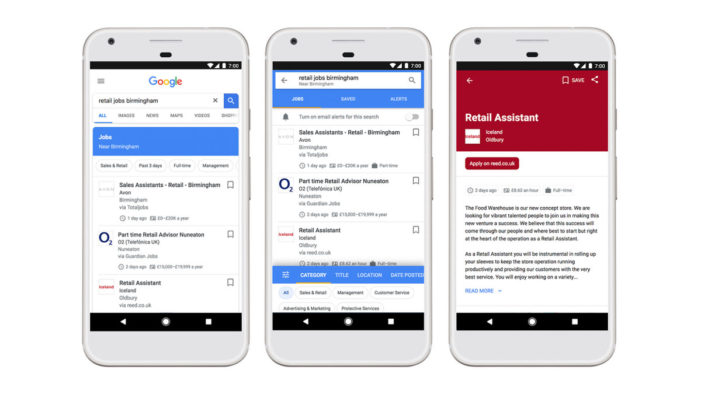 Google takes AI-powered job search service to UK
