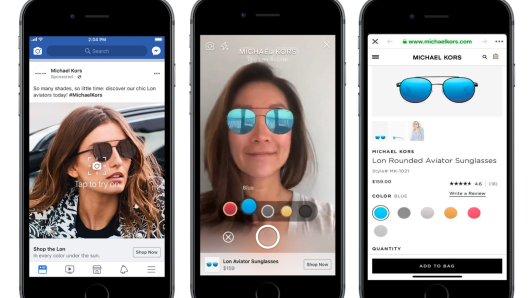 Facebook is adding AR ads, threatening Snap's dominance in the space