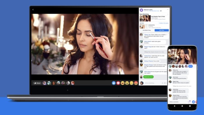Facebook rolls out group video feature Watch Party globally