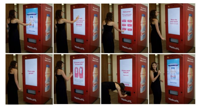 Yakult Cultivates Language with Japanese-Teaching Vending Machine