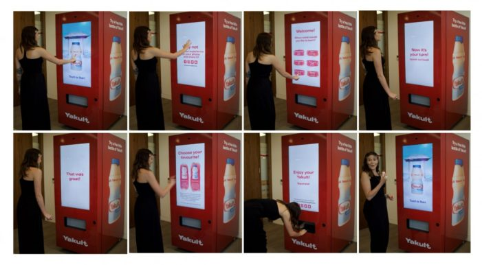Yakult Cultivates Language with Japanese-Teaching Vending Machine