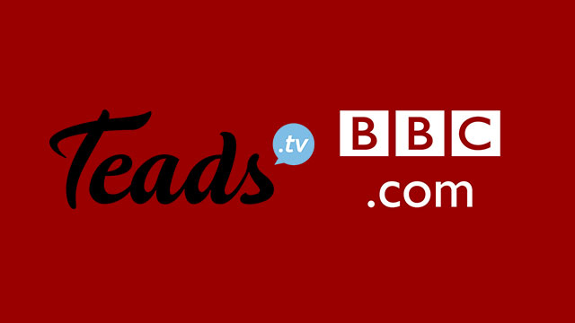 Teads to provide outstream advertising globally to BBC.com