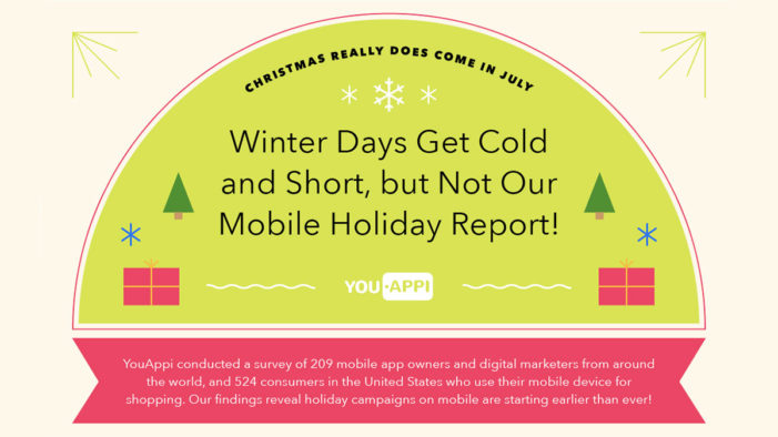 Now is the time to unwrap holiday cheer through targeted mobile campaigns, says YouAppi's report