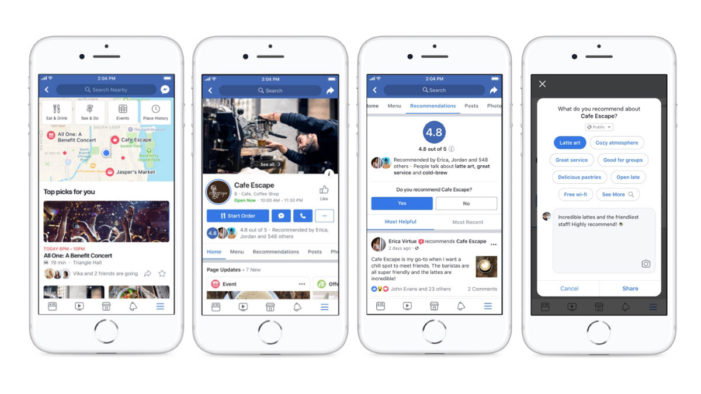 Facebook wants to make it easier for people to connect with local businesses