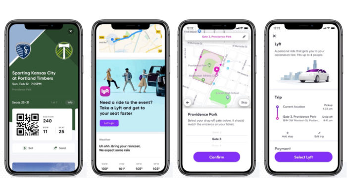 Lyft and SeatGeek look to remove some of the hassle of going to events in the US