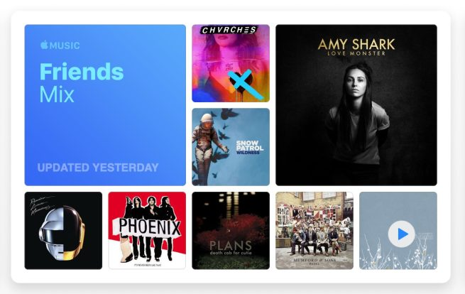 Apple Music launches new weekly 'Friends Mix' for users