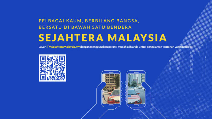 Telekom Malaysia presents Sejahtera Malaysia celebrating Malaysia's diverse cultures