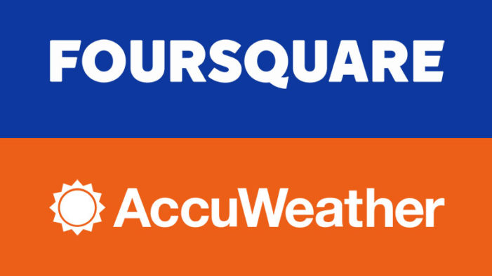 AccuWeather Integrates Foursquare into Latest Update of its Leading Weather App