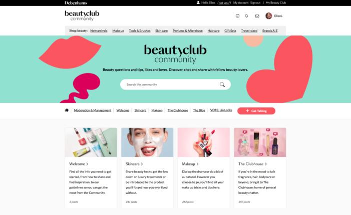 Debenhams drives 'digital first' strategy for beauty