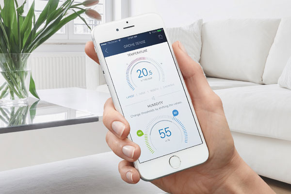 Grohe unveils app-controlled water security system