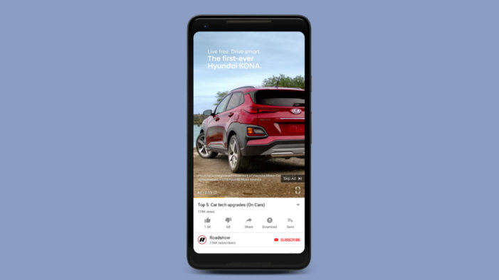 Vertical video ads are coming to YouTube