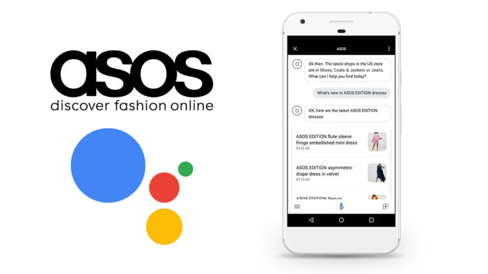 Asos launches on Google Assistant