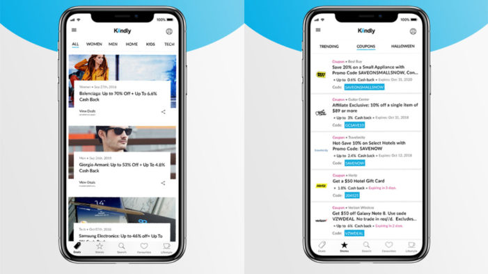New Kiindly app looks to redefine online deal shopping in the US