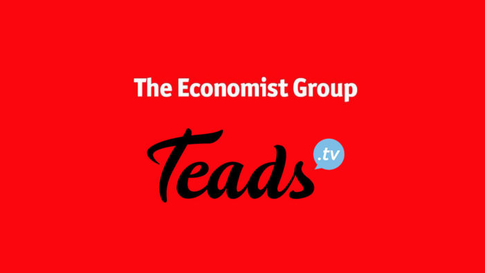 Teads signs exclusive global partnership with The Economist Group