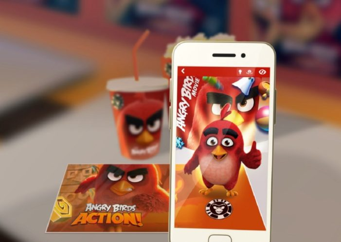 Rovio announces development of new AR app set to link licensed products to digital Angry Birds universe