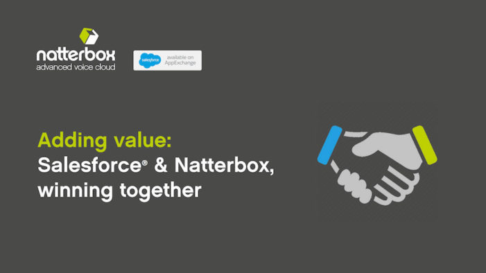 Enhanced customer service as Natterbox extends voice to Salesforce Omni-Channel