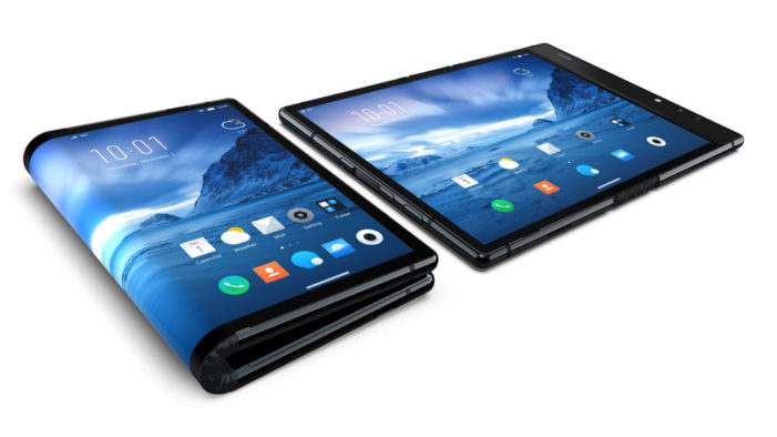 Royole unveils Flexpai foldable, three-screen smartphone