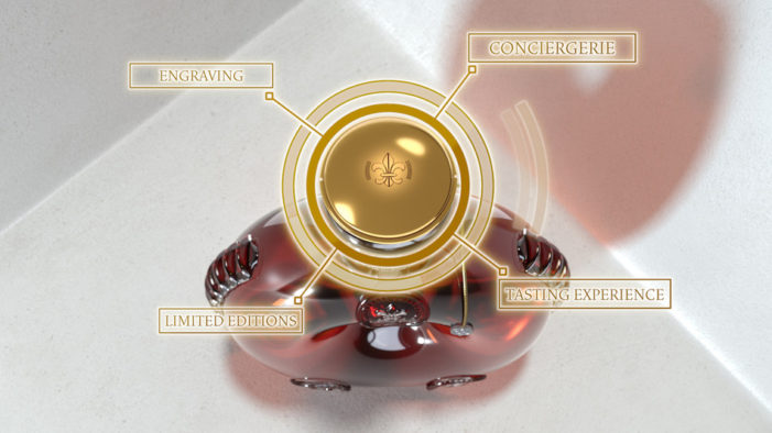 "LOUIS XIII COGNAC Presents Its ""Smart Decanter"": The First Crystal Connected Decanter"