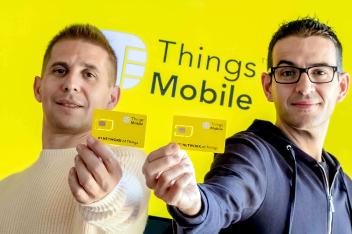 Things Mobile presents an e-SIM for the Internet of Things