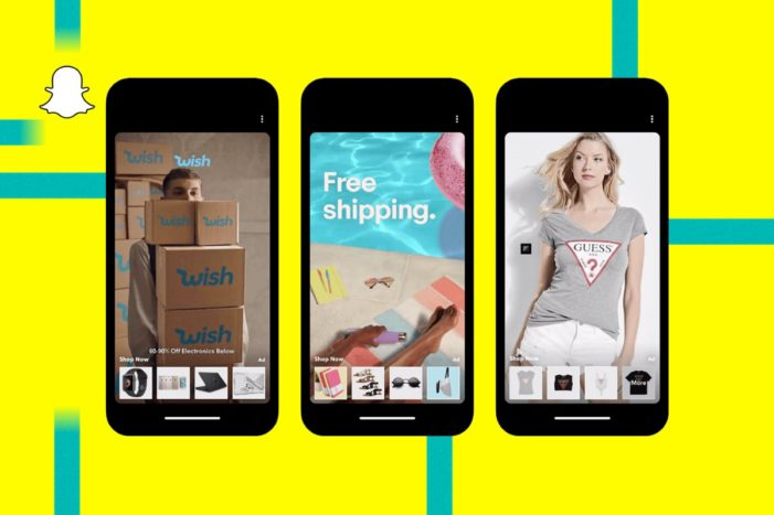 Snapchat's new eCommerce channel lets consumers shop without leaving the app