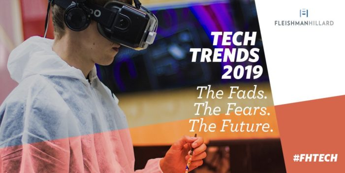 FleishmanHillard Launches Tech Trends 2019 Report