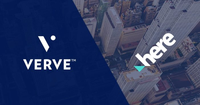 HERE and Verve collaborates to amplify mobile display advertising performance