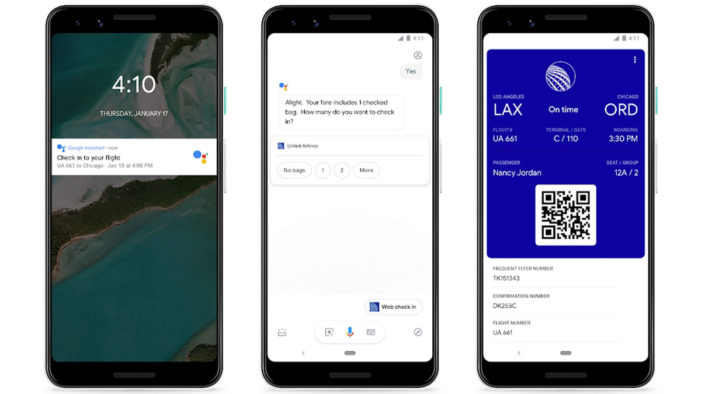 Now you can check-in for flights and book hotels via Google Assistant