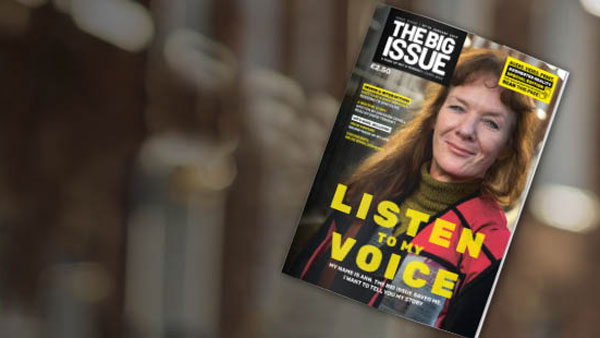 Big Issue launches AR technology to share stories of homelessness in the UK