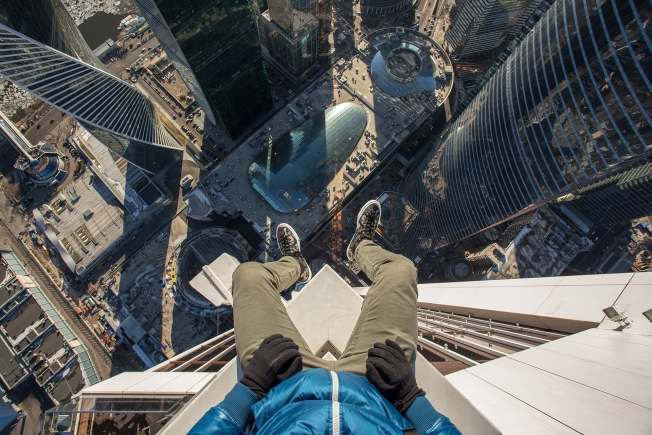Converse Invites You to Climb, and Dangle Your Feet Off, a 75-Story Skyscraper