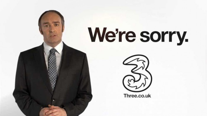 Three Mobile's 30 million customers worldwide will enjoy no Advertising experience
