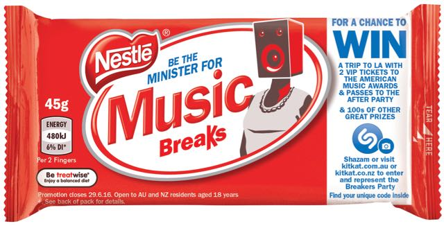 Shazam Teams with KitKat to Make Packaging Interactive in Latest Promotion