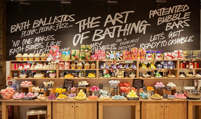 Cult Beauty Brand Lush Goes Mobile