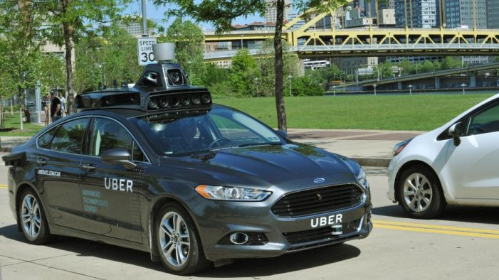 Uber Enters Driverless Car Race