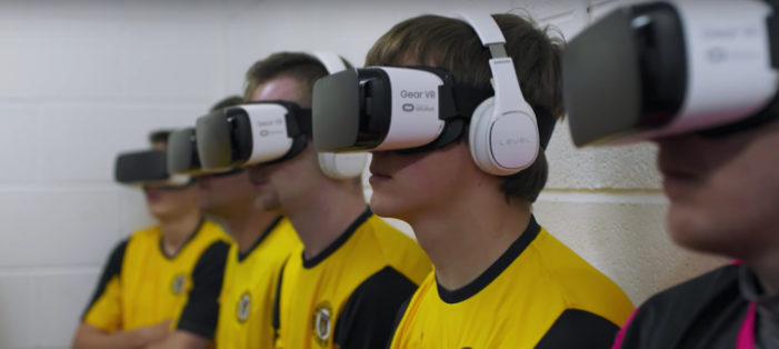 Harry Redknapp coaches England's worst football team through rousing VR speech
