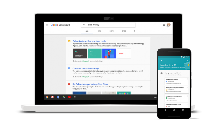 Google Launches Springboard Enterprise AI Assistant