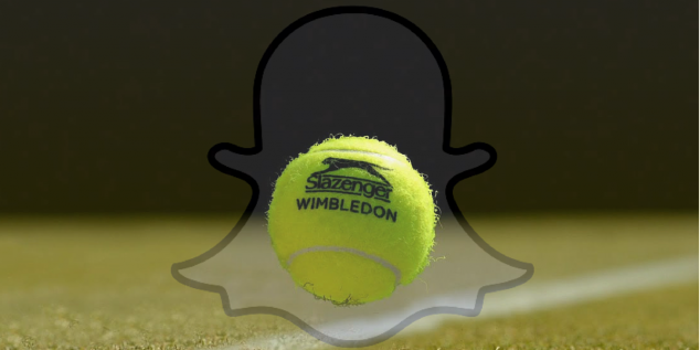 Snapchat inks multiyear deal with Wimbledon as it reveals 10 million Brits are using the app each day