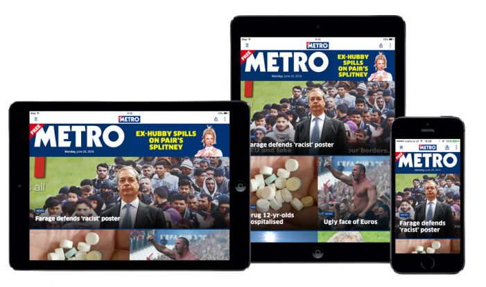 Metro Teams With Kaldor For Relaunched App