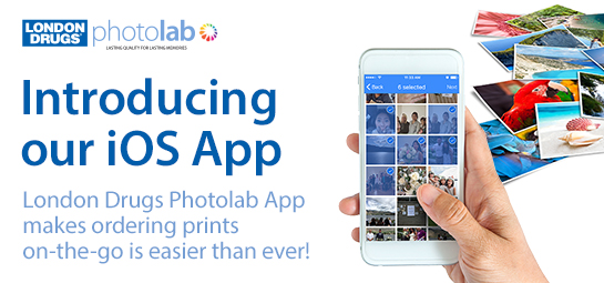 London Drugs launches Photolab app