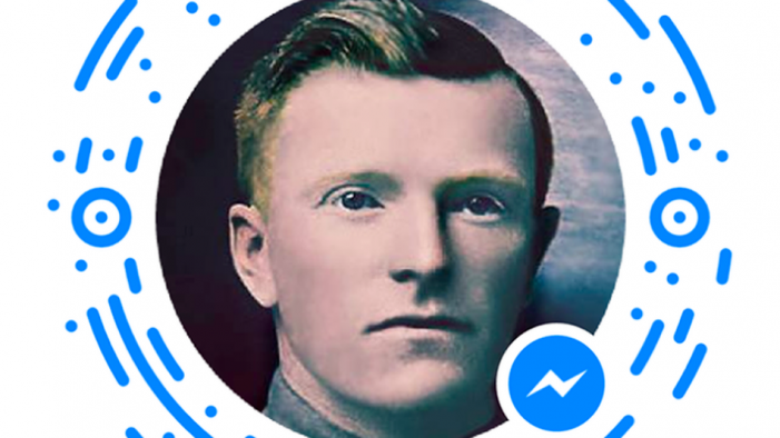 Interactive chatbot lets you talk with a World War I soldier on Facebook Messenger
