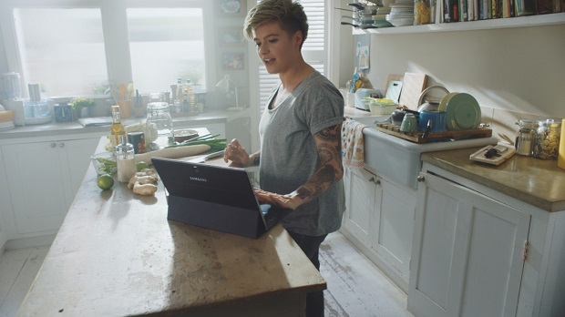 Samsung partners food blogger Jack Monroe for TabPro S campaign