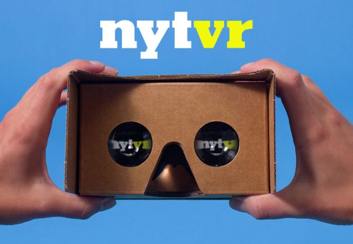 The New York Times collaborate with Google for virtual reality project – NYT VR
