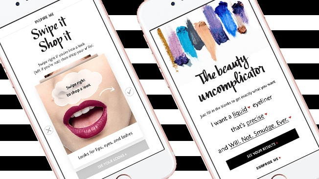 Sephora Is Driving Mobile Sales With Tinder-Like Features and Digital Mad Libs